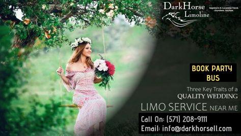 Book Washington DC Wedding Limo Service