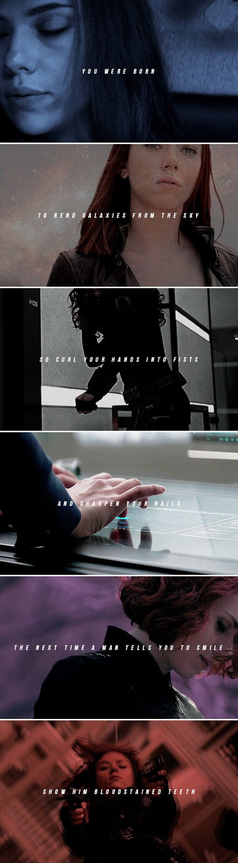 Black Widow: — the female of the species