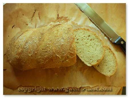 Easy Bread Recipe - Gwens Nest