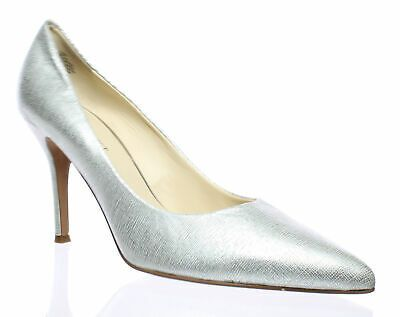 Advertisement Ebay Nine West Womens Silver Pumps Size 10 12406 Silver Pumps Pumps Silver Shoes
