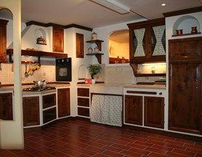 Cucina Apm In Legno Di Noce E Scocca In Listellare Arredamento Arredamento Ingresso Cucine