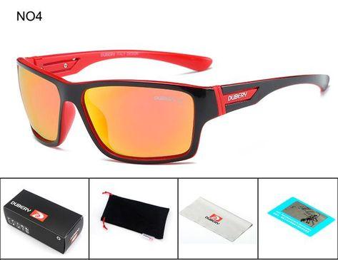 7548cb7fd5 DUBERY Polarized Sunglasses Men s Driving Shades Male Sun Glasses For Men  Safety 2017 Luxury Brand Designer Oculos