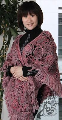 Crochet Patterns: crochet shawl| #free |#crochet patterns|433
