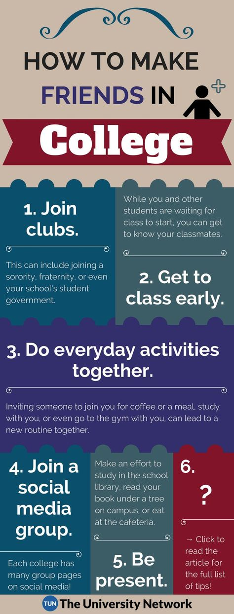 6 Tips on How to Make Friends in College | The University Network