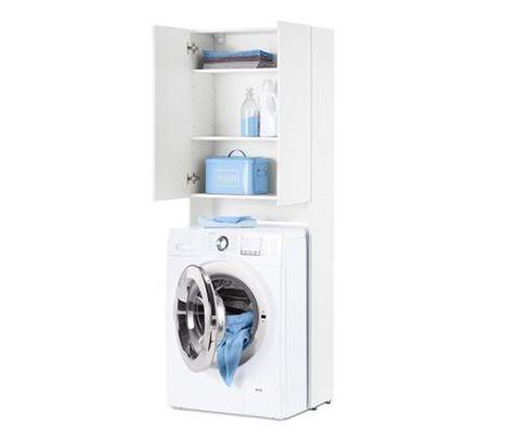 Waschmaschinenschrank In 2020 Boho Badezimmer Wasche Und Schrank