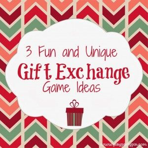 3 Fun and Unique Gift Exchange Ideas by playpartypin.com