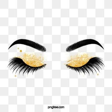 Hand Painted Black Curled Thick Eyelashes Star Eye Makeup Eyebrow Clipart Eyes Black And White Hand Painted Png Transparent Clipart Image And Psd File For F Makeup Clipart Thicker Eyelashes Eyeshadow