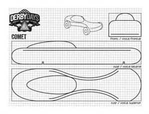 Cool Pinewood Derby Templates  Free Sample Example Format