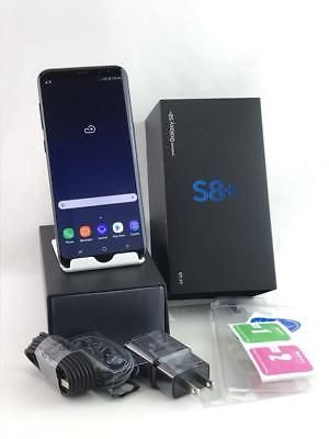 Samsung Galaxy S8 Plus SM-G955U 64GB Midnight Black! GSM