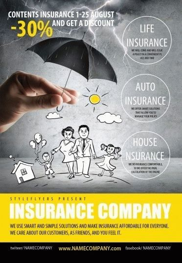 Life Insurance Flyer Templates Psd Flyer Templates Life Insurance Quotes Business Flyer Templates