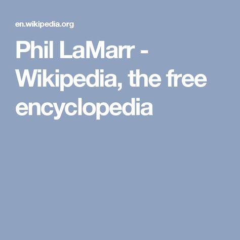 Phil LaMarr - Wikipedia, the free encyclopedia