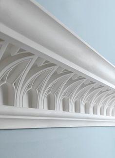 Blanc Architecture Lucie Blanchet Architecture D Interieur Blanco Architecture Design Adaptive Archit Gesims Ideen Deckenarchitektur Bas Relief
