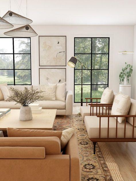 Living Room Interior, Home Living Room, Home Interior Design, Living Room Designs, Living Spaces, Hans Wegner, House Doctor, Living Room Inspiration, Home Decor Inspiration