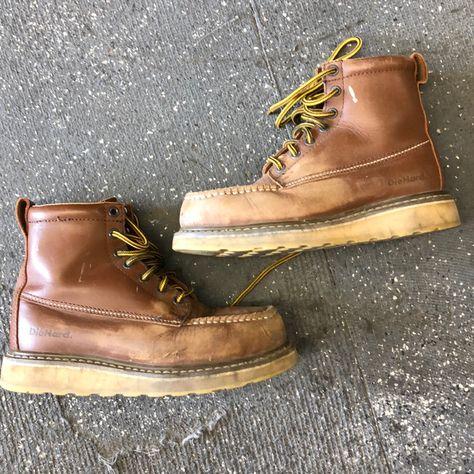 die hard Shoes | Vintage Steel Toe