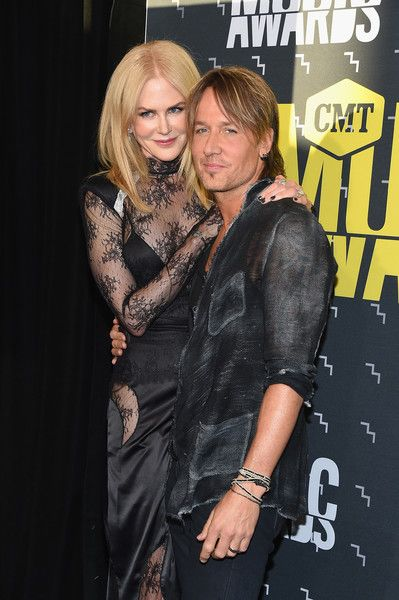 Nicole Kidman and Keith Urban attend the 2017 CMT Music Awards at the Music City Center.
