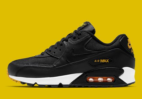 The Nike Air Max 90 Equips A Reverse Taxi Colorway   Nike