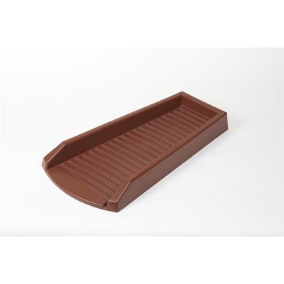 Amerimax Eavestrough Gutter Guard 3001 12 24 In Brown Vinyl Splashblock Brown