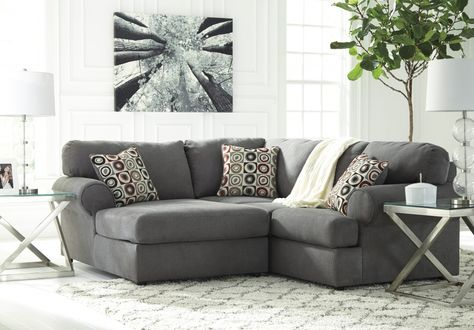 homestore room canada sectionals ashley center sectional crop laf living place loric collections jessa piece