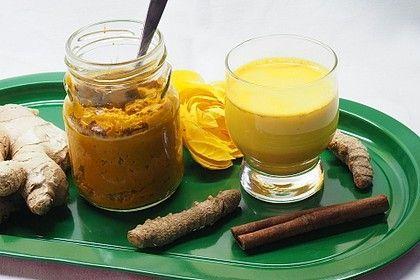 Golden Milk Paste A La Conny Getranke Food And Drink Food Food Inspiration