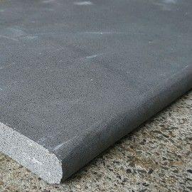 Bluestone Sawn Bullnose Step Stair Tread Step Treads Bluestone Steps Tile Steps