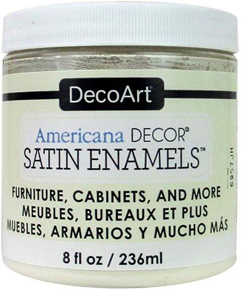 DecoArt Décor Americana Decor Satin Enamels 8oz SoftLinn ...