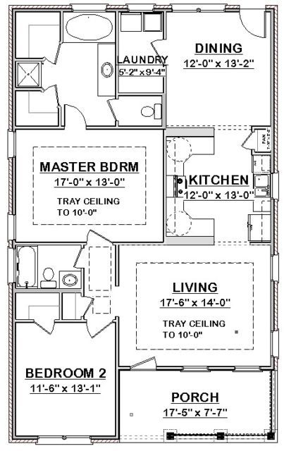 Picture 2 Of 4 Guest House Plans House Blueprints Small House