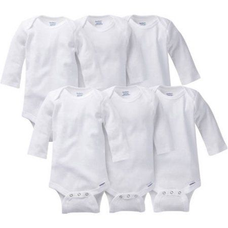 dbd0a6e73de2 Gerber Baby Onesies Brand One Piece Underwear