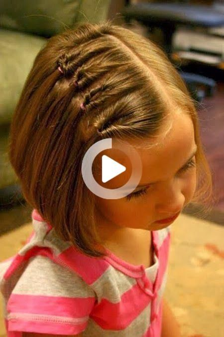 20 Beautiful Simple And Cute Hairstyles For Girls Easy Hairstyles To Little The Post 20 Easy Hairstyles Toddler Hairstyles Girl Kids Hairstyles