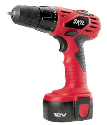 Skil 2240 01 Cordless Drill Kit 12 Volt 3 8 Cordless Drill Drill Drill Driver