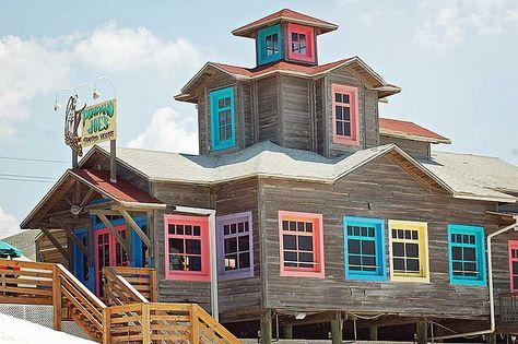 Destin, Florida, Pompano Joe's ~ <3 Colorful Windows!