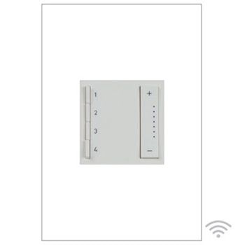 Legrand Soft Tap Wi Fi Ready In Wall Scene Controller Adtpriwhcw1 Lighting Control System Lighting System Wifi
