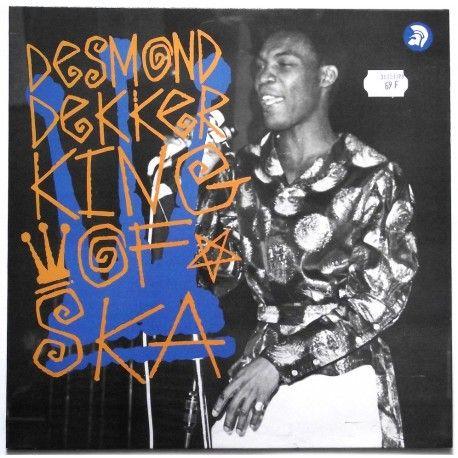 Desmond Dekker King Of Ska Uk Trojan Records Trls 292 Vinyle