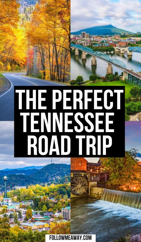 If you are looking for a great Tennessee road trip itinerary, we have you covered! Come see the beauty of Tennessee for your vacation!