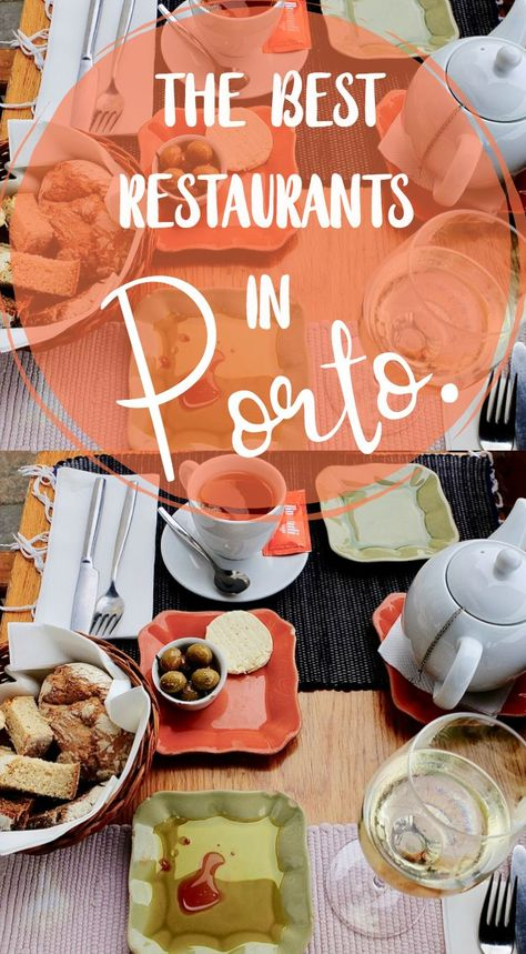 If you're heading to Portugal, you can't miss eating your way through Porto. Check out this list of best places to eat in Porto!  #portugal #porto #food #travel #europe