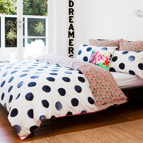 Real Living Dotty Quilt Cover Set From Target Home Bedroom