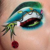 30 Pretty Eye Shade Ideas For Christmas Koees Blog - #Blog #Christmas #Eye #Ideas #Koees #pretty #shade