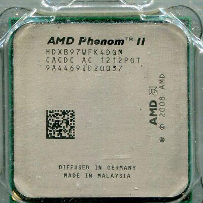 Phenom II X4 B97 3.2 GHz Quad-Core Processor HDXB97WFK4DGM