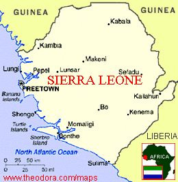 map of sierra leone showing districts Google Search MAPS
