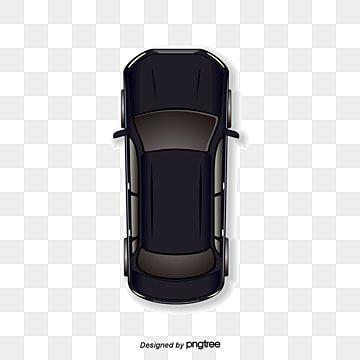 Pessoa Mao Black Corpo Background Car Cartoon Car Top View Black Car