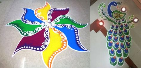 Transformation Of Rangoli In Today's Times