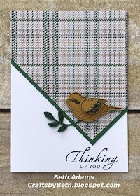 Crafts by Beth: Masculine Thinking of You