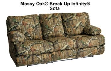 Tufted Sofa Catnapper Ranger Comfort Choice Camo Living Room Sofa Furniture Collection Bass Pro Shops For the Home Pinterest Camo living rooms Camo and Sofa