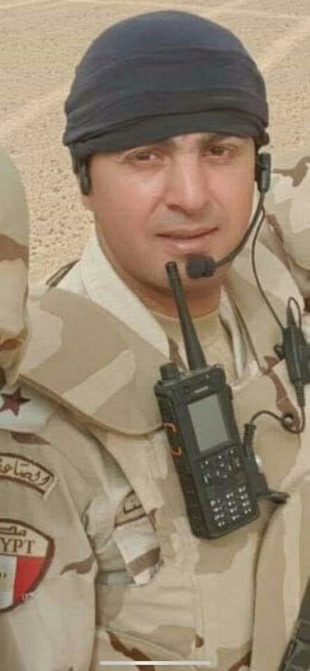 مصاب عمليات المقدم أمير أحمد البنا الله يعافيك امين Electronic Products Electronics Walkie Talkie