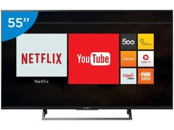 Smart Tv Led 55 Sony 4k Ultra Hd Kd 55x705e Conversor Digital