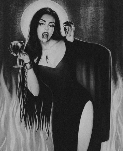 Dark forest, glow of the lake, an eternal dance of death Vampire Love, Vampire Art, Vampire Tattoo, Gothic Vampire, Gothic Kunst, Vampire Drawings, Arte Obscura, Dark Art Drawings, Vampires And Werewolves