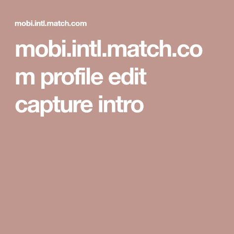 Exempel på bra online dating profil.