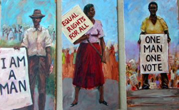Civil Rights Series I Limited Edition Famous African American Artists African American Artwork African American Artist