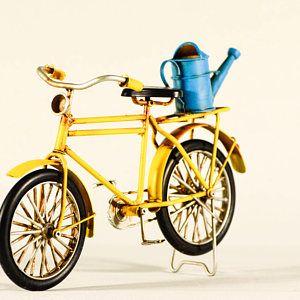 Black And Yellow Fixie Speed Bike Bicycle Fixed Bike