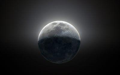 Telecharger Fonds D Ecran 4k La Lune De L Espace Galaxie La Terre Par Satellite Sci Fi De L Univers De La Nasa Besthqwallpapers Com Galaxie Nasa Fond Ecran
