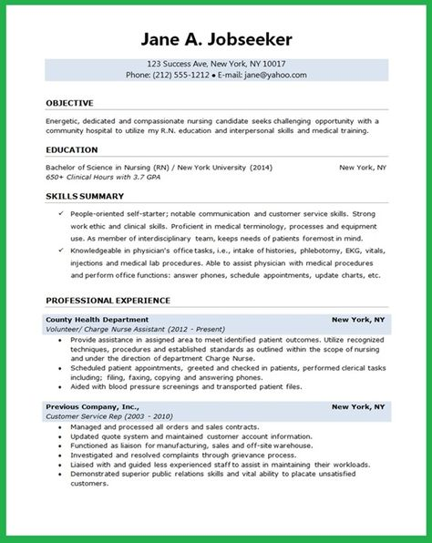 Entry-Level Nurse Resume Sample Download this resume sample to - nursing objectives for resume